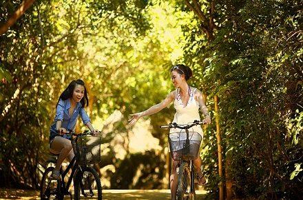 fietsen verminderd stress