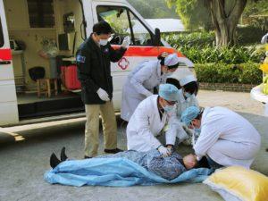 Een fikse hyperventilatie aanval waar de ambulance bij aan te pas moest komen