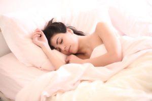 gecombineerd met vroeg slapen